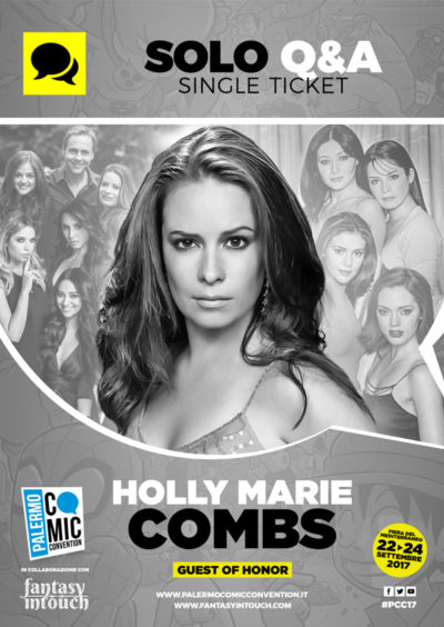 Solo Q&A - Single ticket Holly Marie Combs