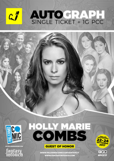 Solo Autografo - Single ticket Holly Marie Combs