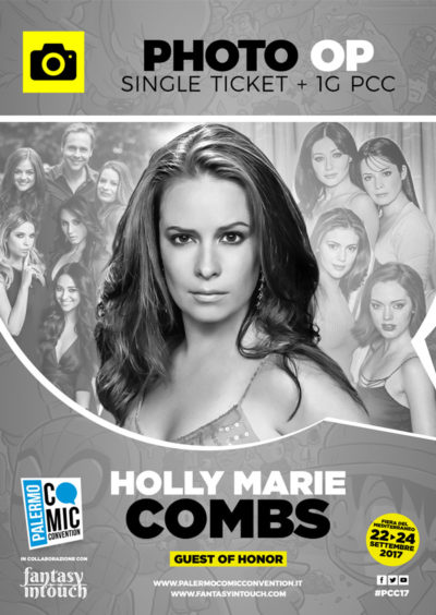 Solo Foto - Single ticket Holly Marie Combs